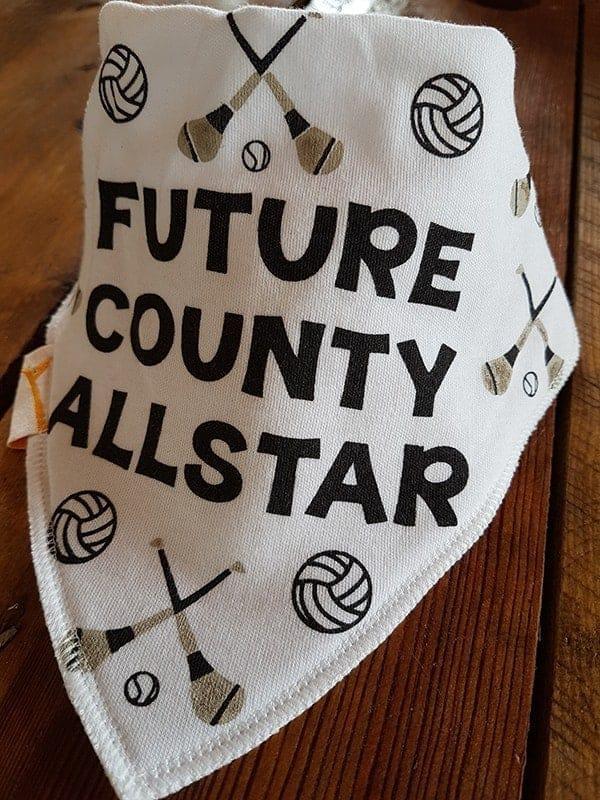GAA Future County Allstar White Bandana Bib