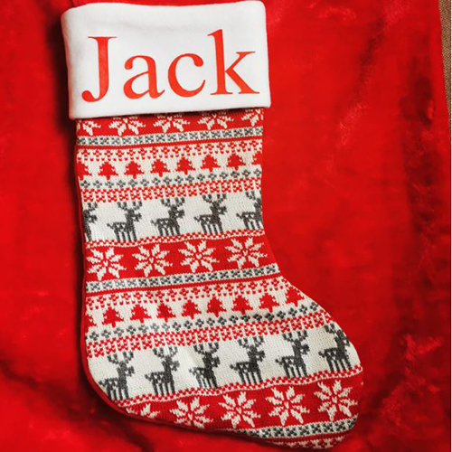 Personalised Christmas Stocking Updated 2019
