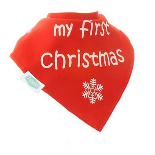 My First Christmas Bandana Bib