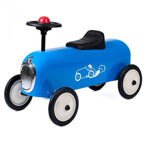 Racer Blue Vintage Ride On