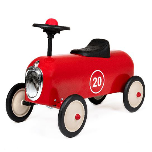 Racer Red Vintage Ride On