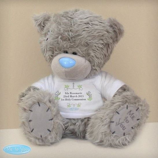 Personalised Me To You Religious Cross Bear with T-Shirt