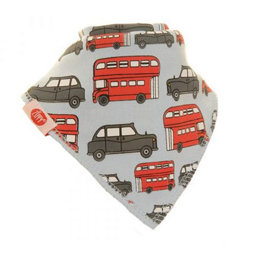 Bus and Taxi Bandana Bib