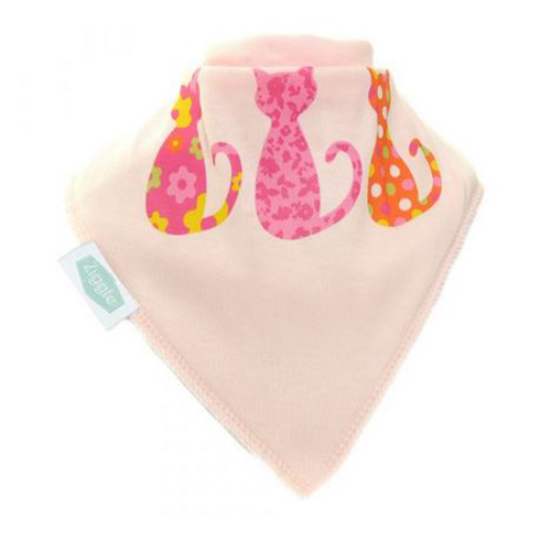 Cool Cats Bandana Bib