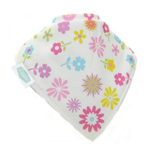 Colourful Flowers Bandana Bib