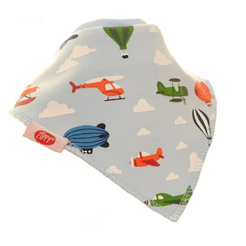 Flying Machines Bandana Bib