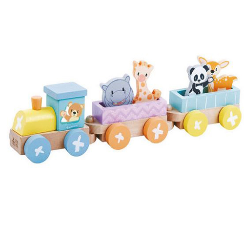 Circus Train with Animals