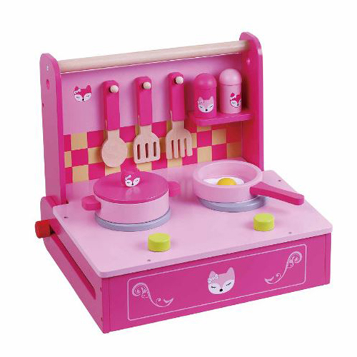 Pink Mini Kitchen Set