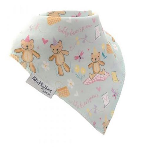 Pastel Prints Teddy Bears Picnic