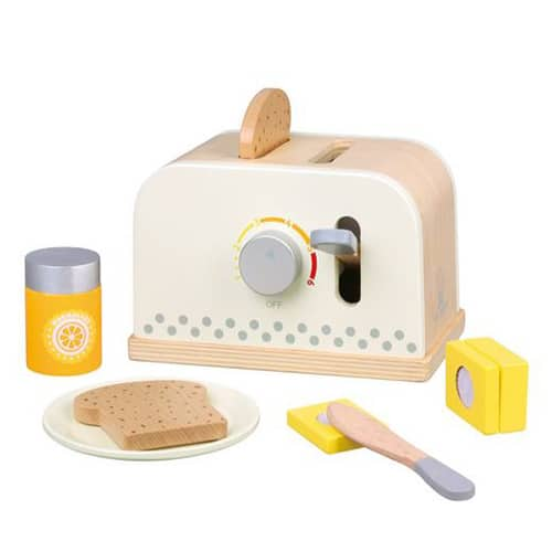 White Toaster with Accessories