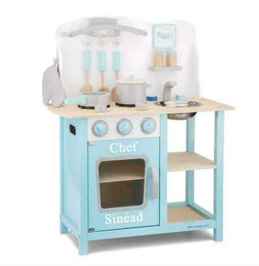 Personalised Kitchen Blue with Accessories