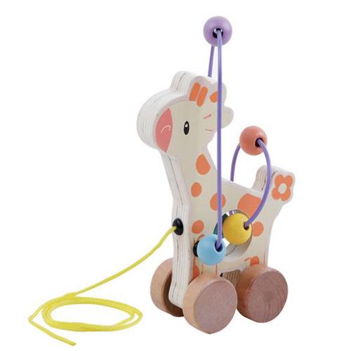 Rolling Bead Coaster Giraffe