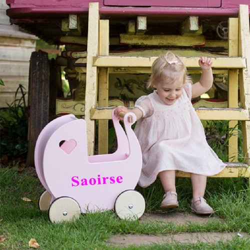 Personalised Dolls Pram
