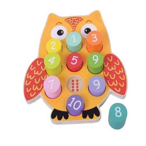Owl Number Block Puzzle