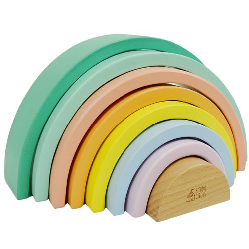 Wooden Stacking Rainbow