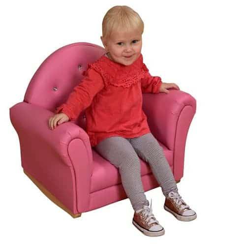 Rocking Pink Armchair