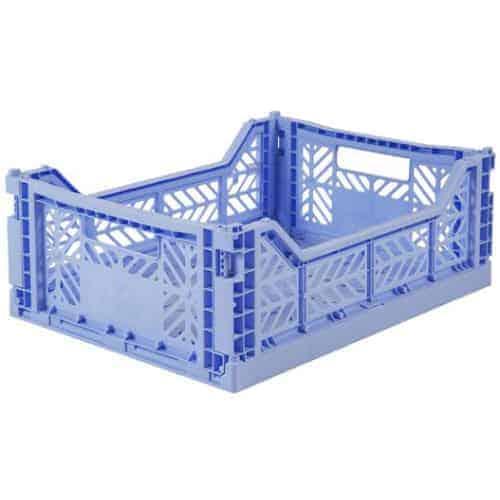 Aykasa Folding Crate Midi Baby Blue