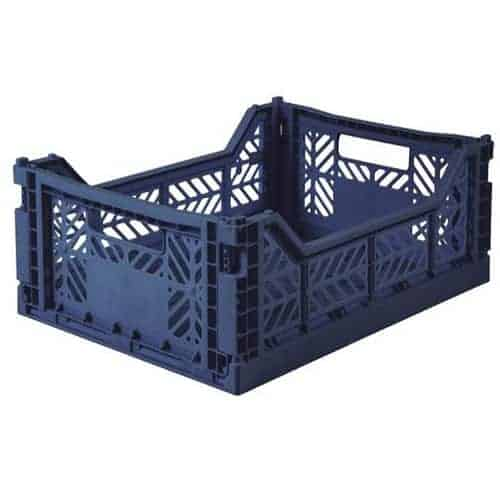 Aykasa Folding Crate Midi Navy