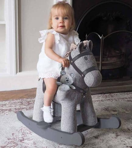 Sterling and Mac Rocking Horse