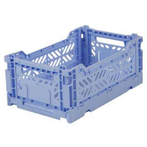 Aykasa Folding Crate Mini Baby Blue