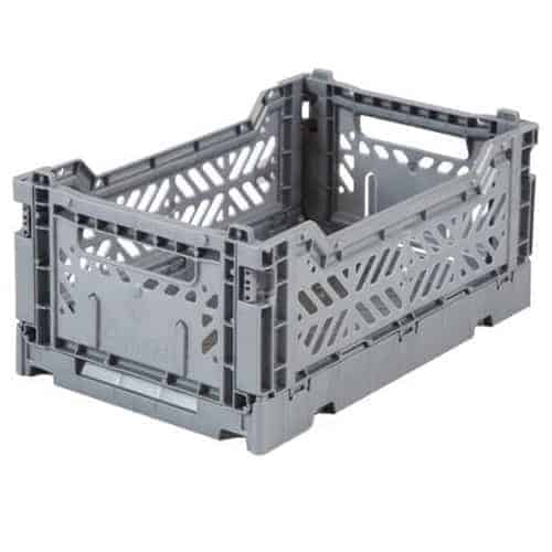 Aykasa Folding Crate Mini Grey