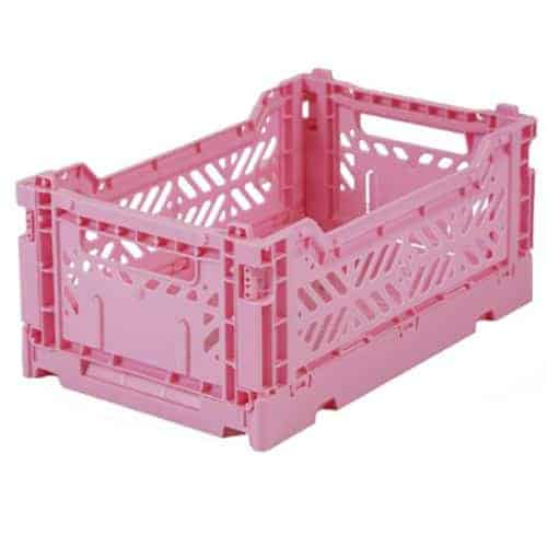 Aykasa Folding Crate Mini Baby Pink