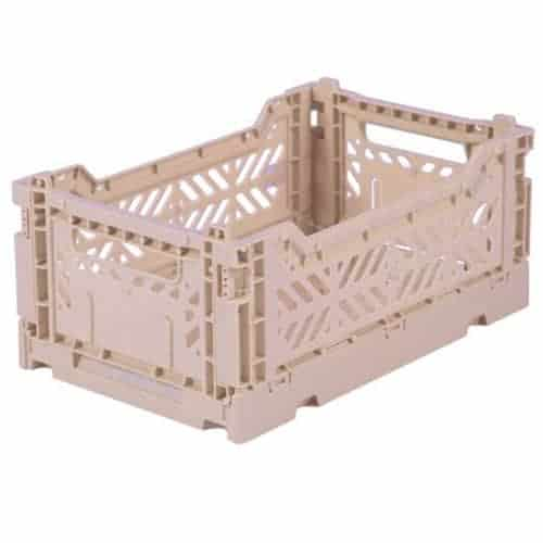 Aykasa Folding Crate Mini Milk Tea
